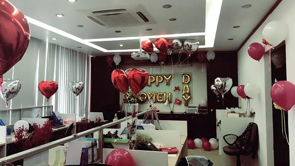 Chào mừng ngày phụ nữ Việt Nam 20-10 tại Công ty Jpnet toàn cầu