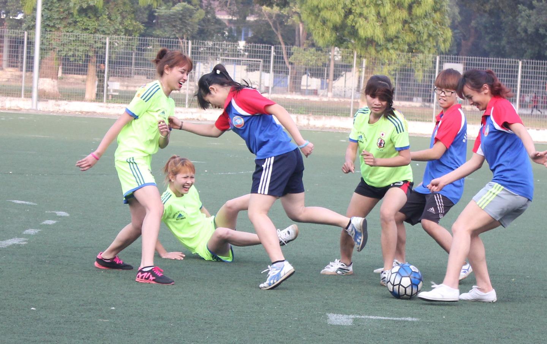 JPNET Toàn Cầu tổ chức giải bóng đá nữ chào mừng ngày phụ nữ Việt Nam 20/10